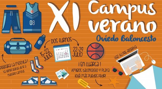 Campus Verano Oviedo Baloncesto 2016